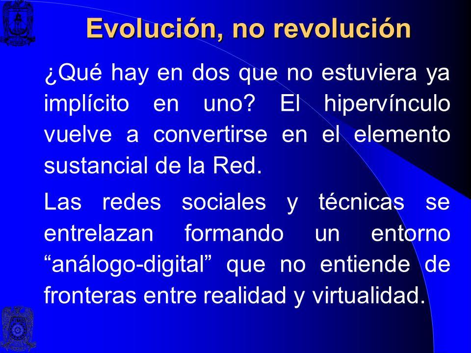 LA RED SOCIOTÉCNICA Software Social Gestión de Redes Sociales Individuos, Organizaciones Web 2.0