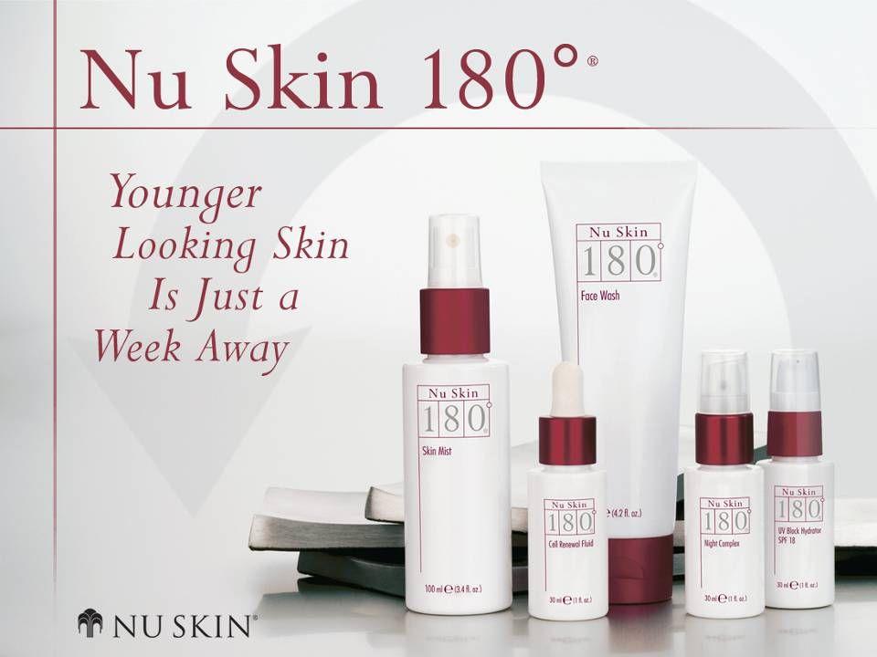 Nu Skin 180 ° ® Sistema de Terapia Anti-edad Tu piel te dice que es hora de cambiar.