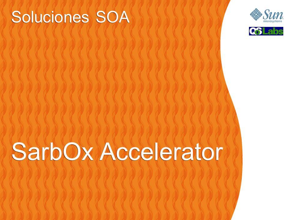 Soluciones SOA SarbOx Accelerator Soluciones SOA SarbOx Accelerator