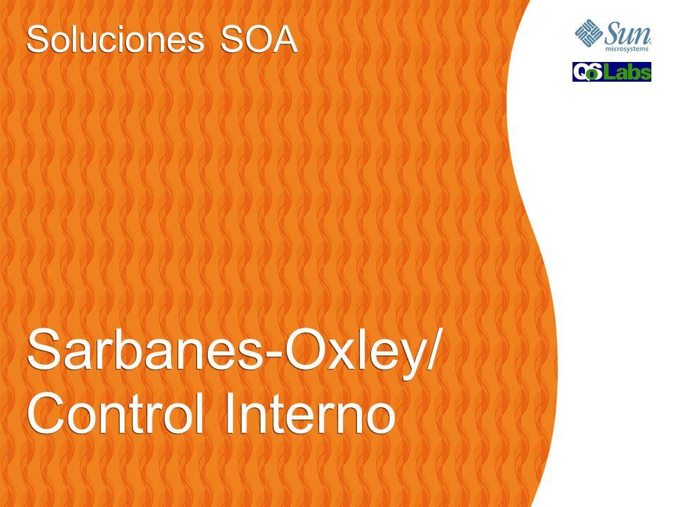 Soluciones SOA Sarbanes-Oxley/ Control Interno Soluciones SOA Sarbanes-Oxley/ Control Interno