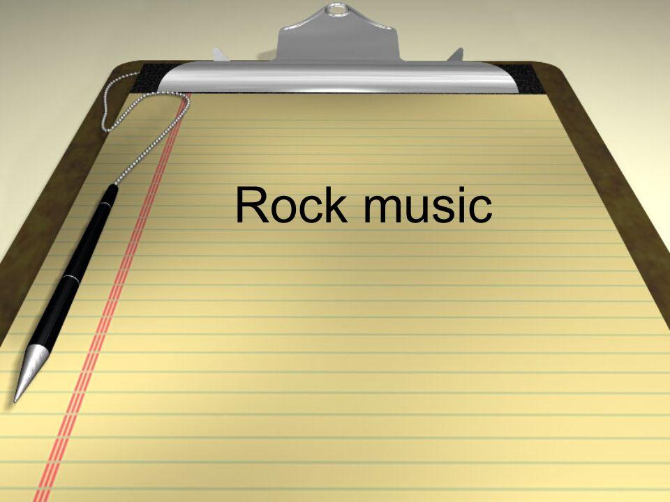 la música rock