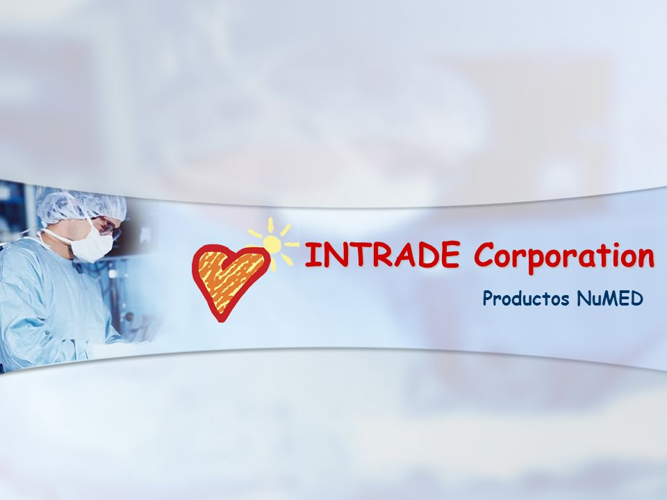 INTRADE Corporation Productos NuMED