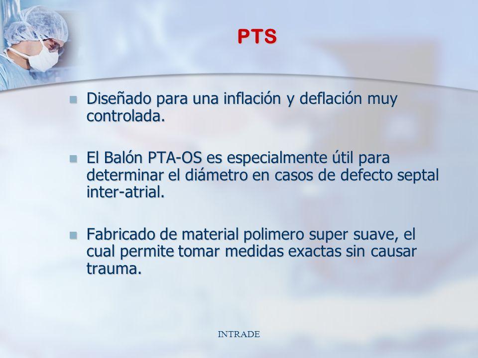 INTRADE PTS Diseñado para una inflación y deflación muy controlada.