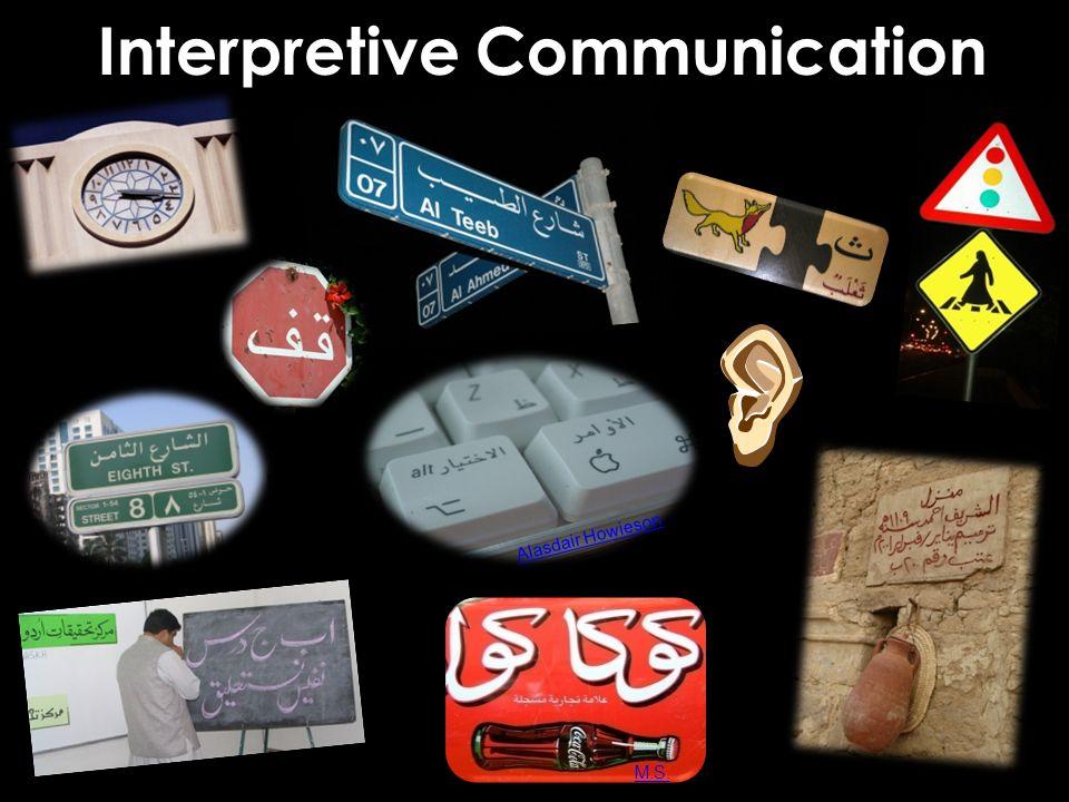Alasdair Howieson M.S. Interpretive Communication