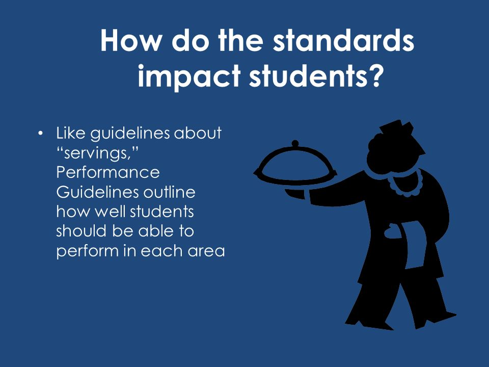 How well-balanced are your lessons? Use the National Standards to make them healthier for students