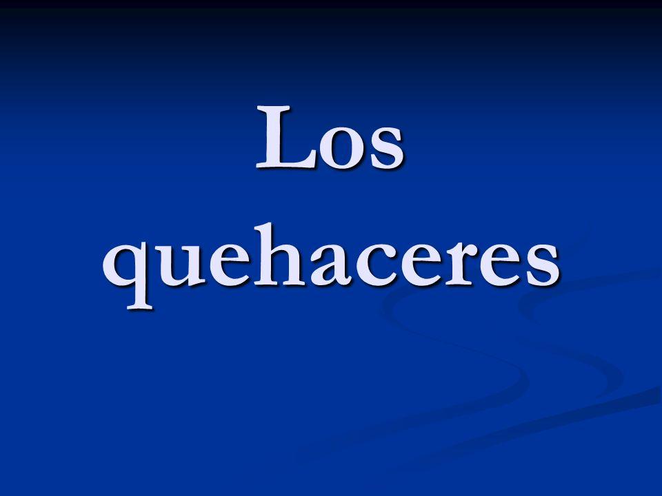 Saco ____ de ______. I take out _____ from _______. ¿De dónde sacas…? From where do you take out…?