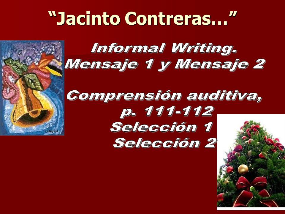 Jacinto Contreras…