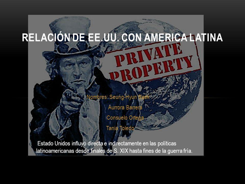«Expresión usada por los Republicanos, como una justificación teórica para la expansión estadounidense fuera de América del Norte.