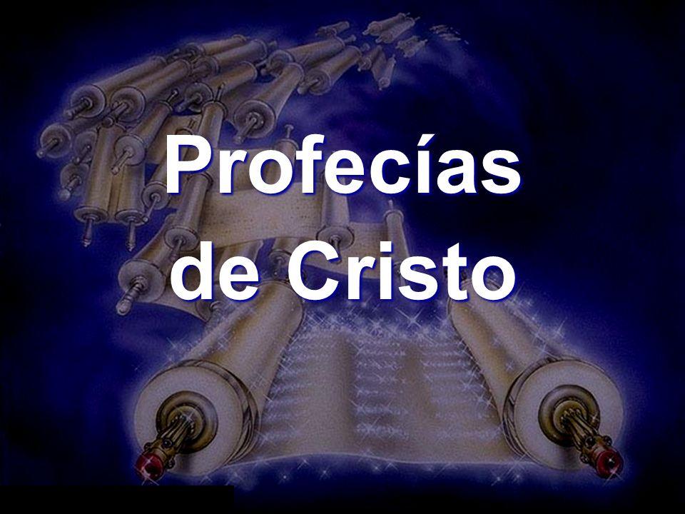Profecías de Cristo