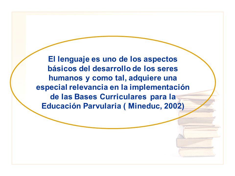El lenguaje es uno de los aspectos básicos del desarrollo de los seres humanos y como tal, adquiere una especial relevancia en la implementación de la