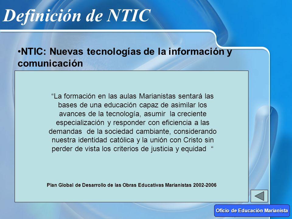 Definición de NTIC NTIC: Nuevas tecnologías de la información y comunicación Sociedad de la Información CAMBIANDO A GRAN VELOCIDAD EconomíaPolíticaCul