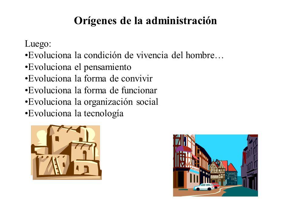 ¿Qué significa y qué es la administración.