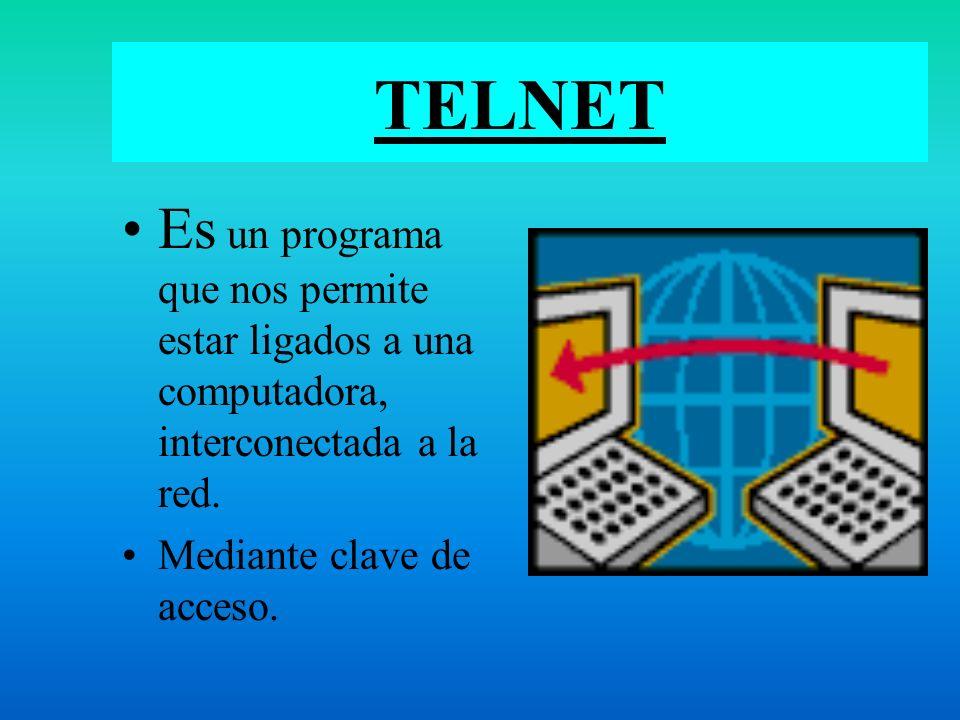 ACCESO A LA INFORMACIÓN TELNET DATABASE CDEUROPE HIPERTEXTO NETSCAPE MOISAC. GOPHER FOROS Y MAIL