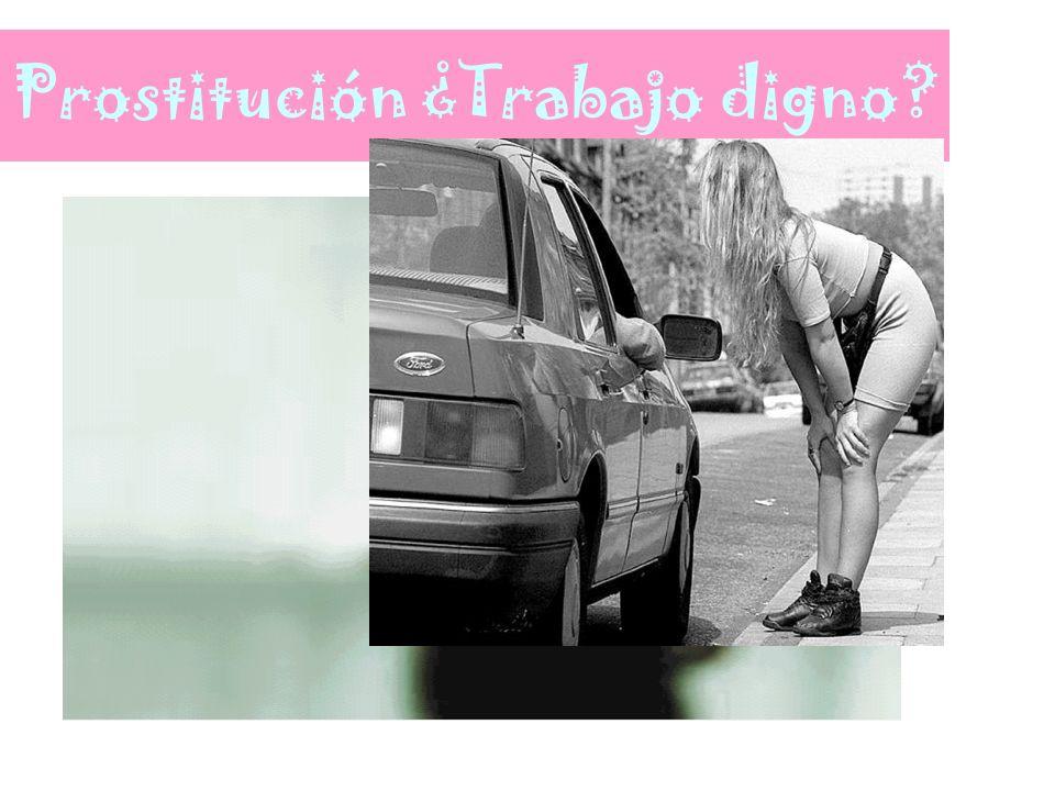Prostitución ¿Trabajo digno?