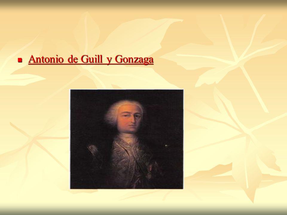 Antonio de Guill y Gonzaga Antonio de Guill y Gonzaga