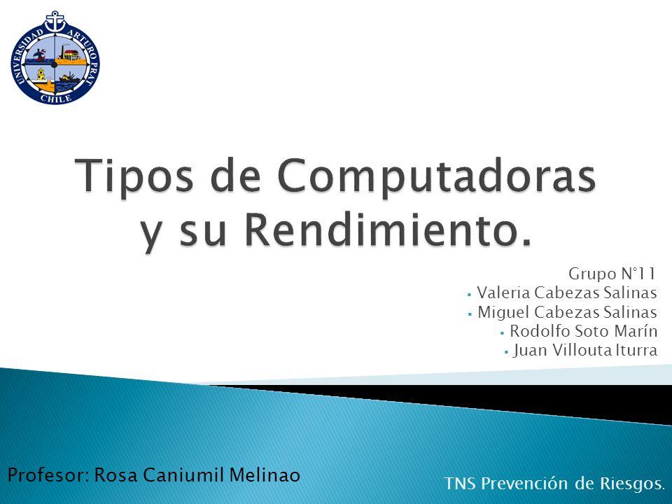 Grupo N°11 Valeria Cabezas Salinas Miguel Cabezas Salinas Rodolfo Soto Marín Juan Villouta Iturra TNS Prevención de Riesgos. Profesor: Rosa Caniumil M