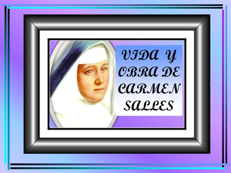 Les contaré cómo en mi vida hubo habido un hilo conductor Soy Carmen Sallés Barangueras.