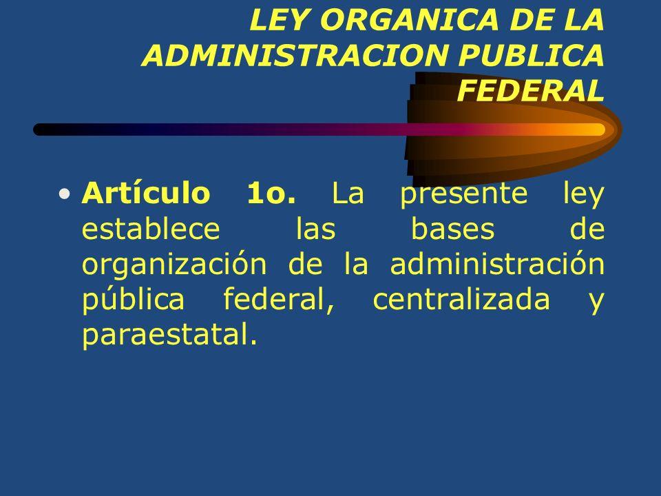 La Administración Pública La función administrativa se realiza por el Estado a través del Poder Ejecutivo, dicho Poder recibe una organización especia