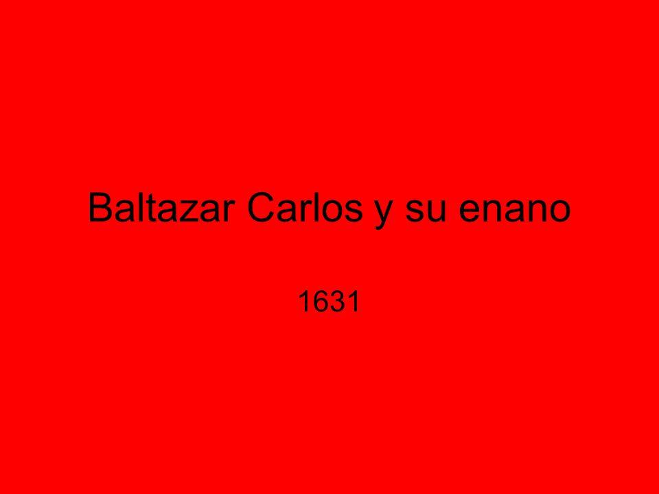 Baltazar Carlos y su enano 1631