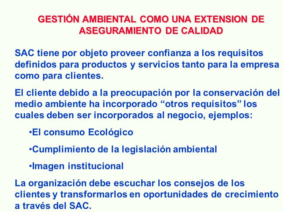 ISO 14001 ISO 9001 Vs. ISO 14001 Diferencia: PROPOSITO ISO 9000 NECESIDADES DEL CLIENTE ISO 14000 NECESIDADES DE LA SOCIEDAD PARA LA PROTECCION DEL ME