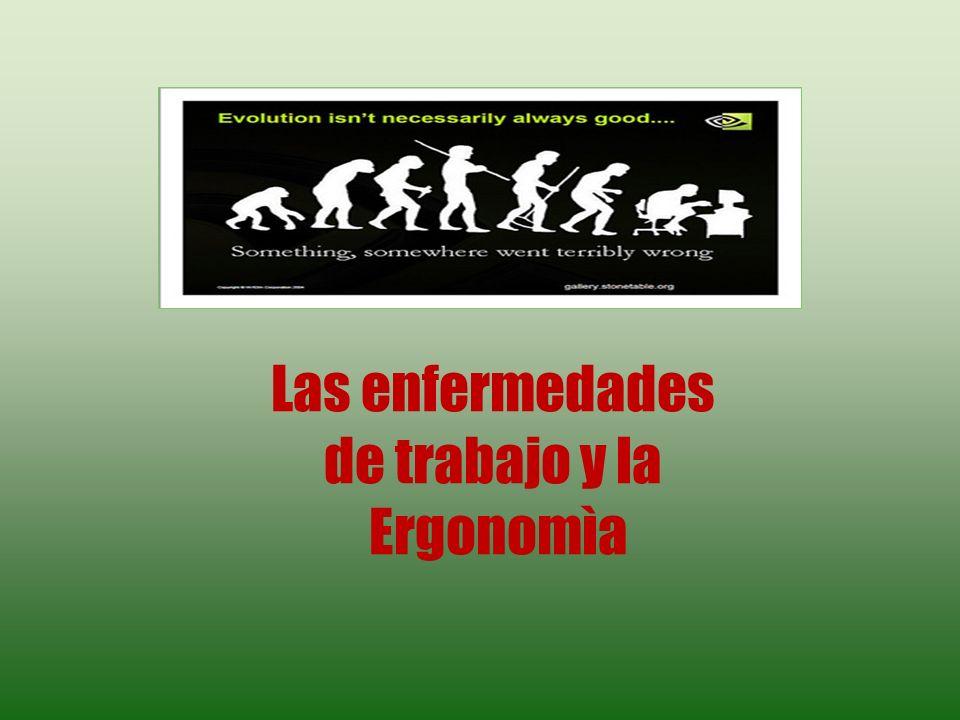 ERGONOMIA ANTECEDENTES