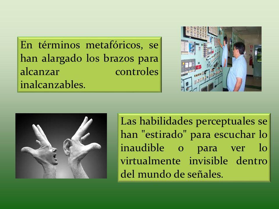 En términos metafóricos, se han alargado los brazos para alcanzar controles inalcanzables. Las habilidades perceptuales se han