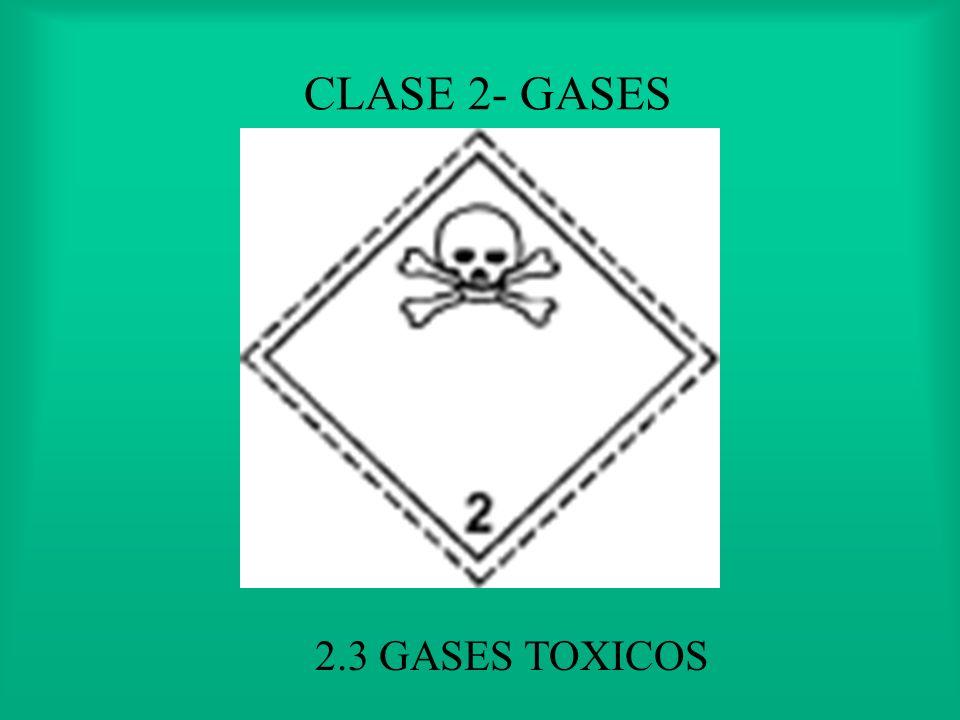 CLASE 2- GASES 2.2 NO INFLAMABLE, NO VENENOSO Y NO CORROSIVO