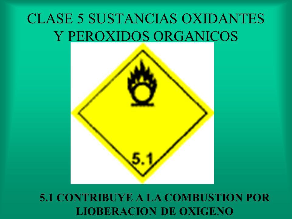 CLASE 4 SÓLIDOS INFLAMABLES 4.3 EN CONTACTO CON EL AGUA DESPIDE GASES INFLAMABLE Y/O TOXICOS
