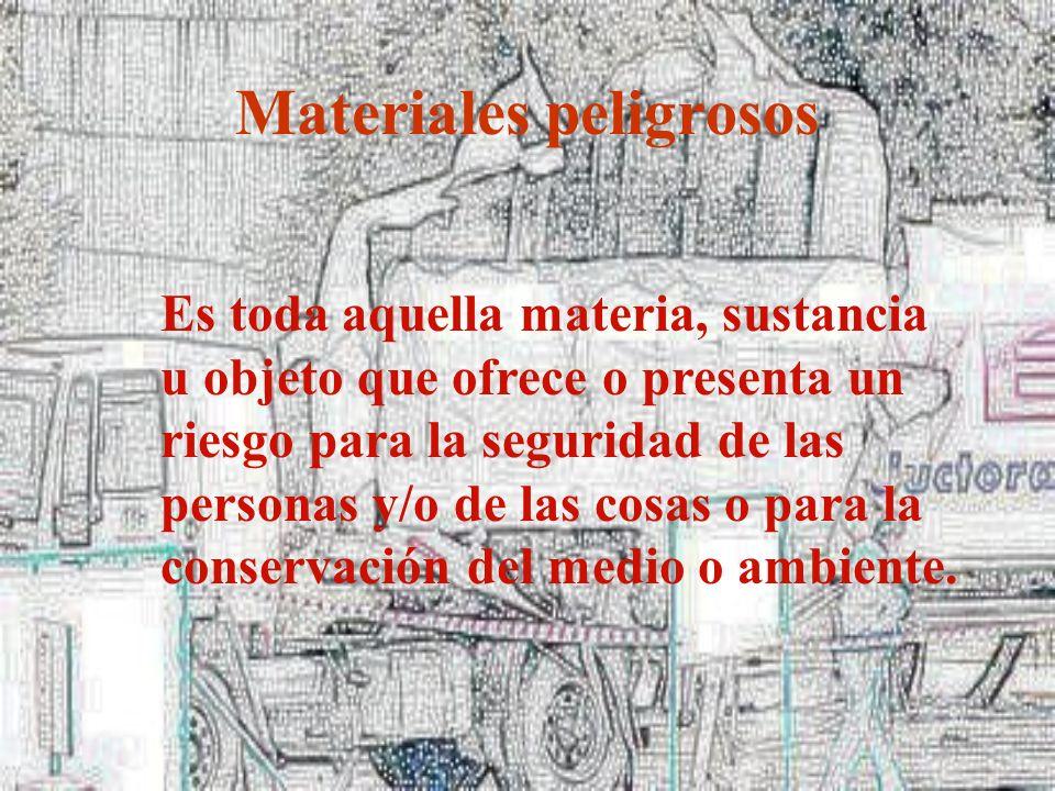1 Definir Materiales peligrosos 2 2 Interpretar los distintos métodos formales de identificación