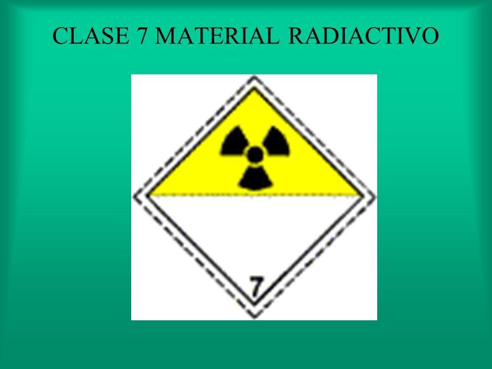 CLASE 6 SUSTANCIAS TOXICAS E INFECCIOSAS 6.2 QUE CONTIENEN MICRORGANISMOS O TOXINAS QUE AFECTAN AL HOMBRE
