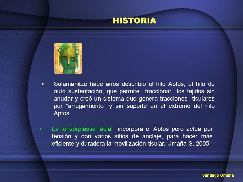 TENSORPLASTIA FACIAL Tensión y volumen Santiago Umaña