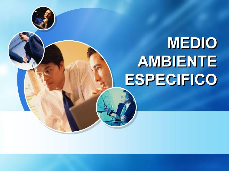 MEDIO AMBIENTE ESPECIFICO