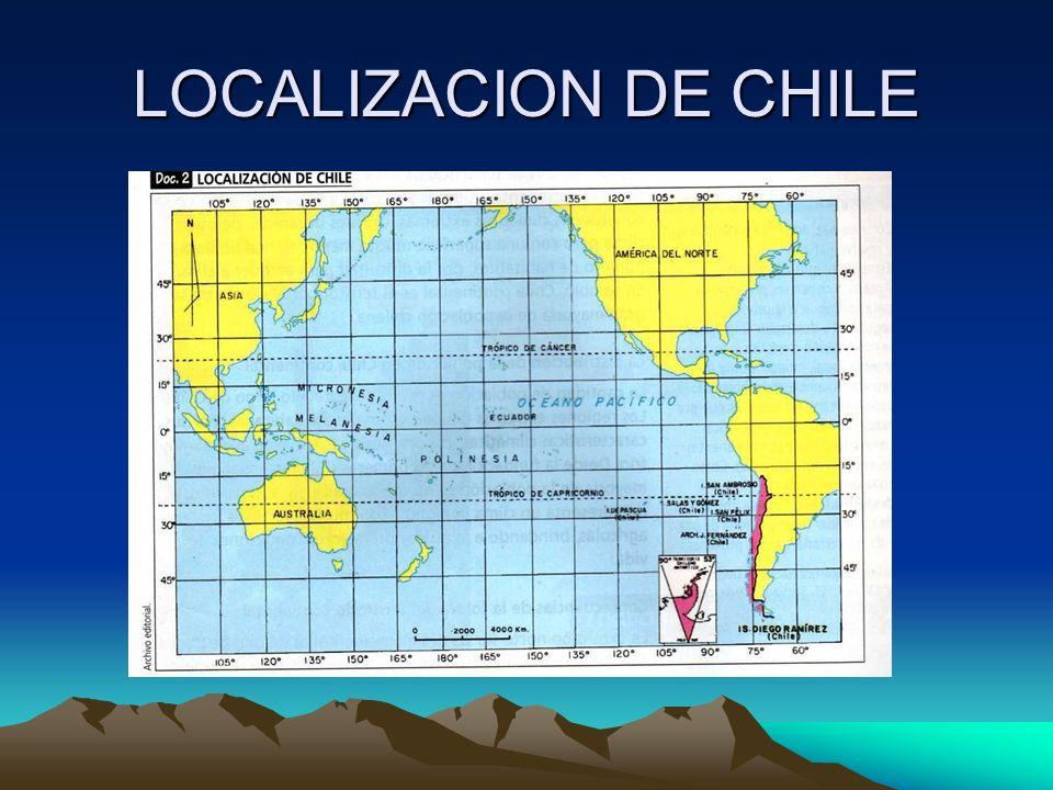 GEOGRAFIA DE CHILE Parte I MATERIAL DE APOYOMATERIAL DE APOYO SUBSECTOR: CIENCIAS SOCIALESSUBSECTOR: CIENCIAS SOCIALES PROGRAMA CHILE CALIFICAPROGRAMA