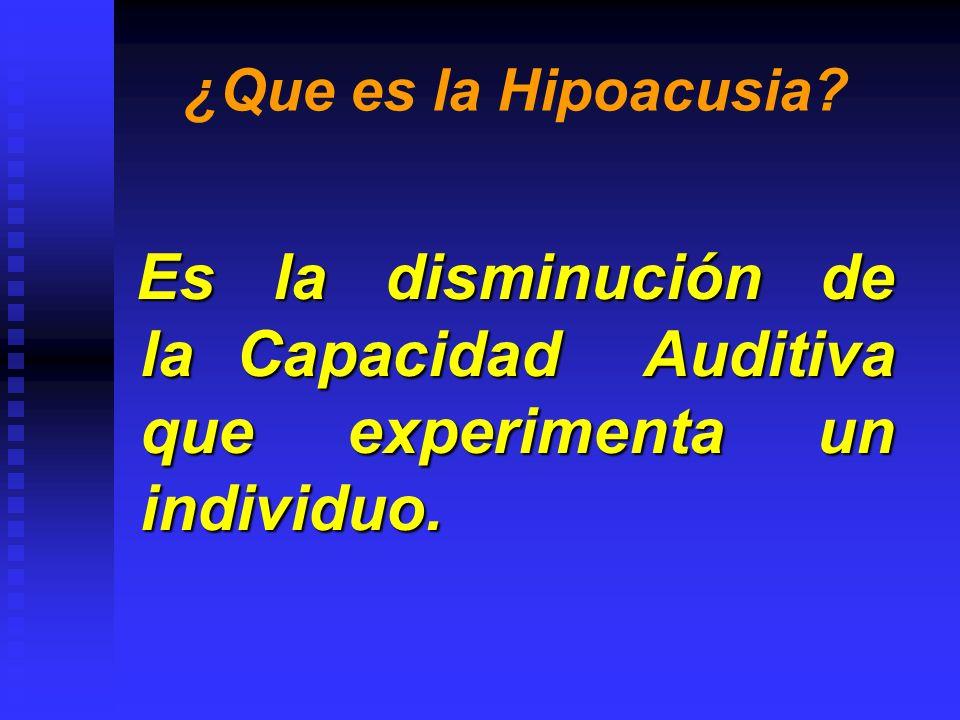 ¿Cómo se originan las Hipoacusias.Traumatismo Craneocefalicos.