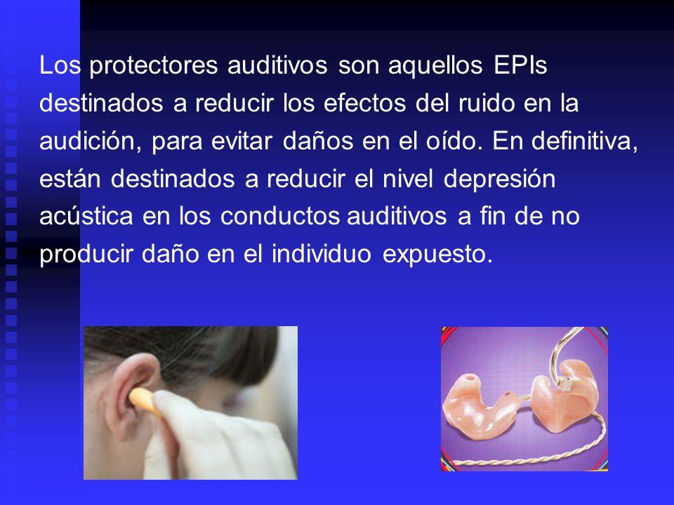 Los protectores auditivos, en general, deben ser capaces de resistir: Agentes mecánicos como presiones o perforaciones.