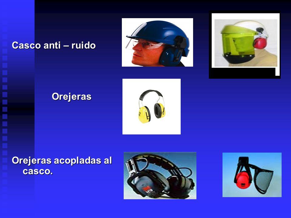 Tapones Auditivos Son protectores auditivos que se colocan en el canal auditivo externo (endoaurales) o en la cocha de la oreja (semiaurales), con el fin de bloquear la entrada del sonido.