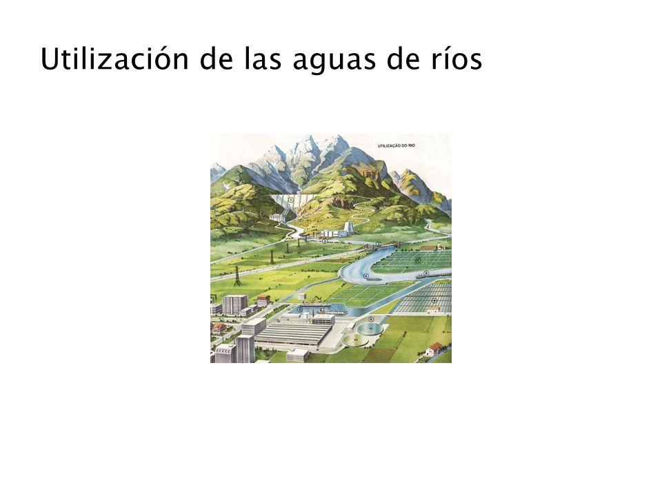 Utilización de las aguas de ríos