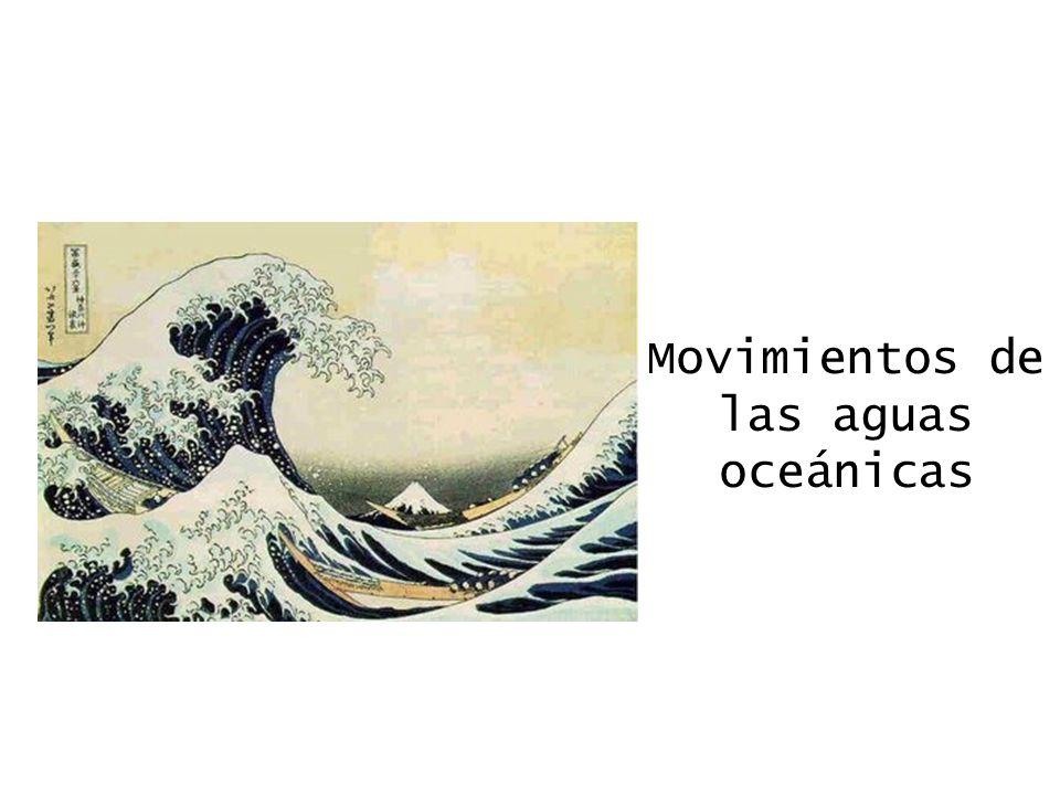 Movimientos de las aguas oceánicas