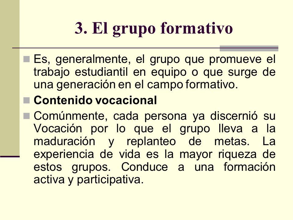 Pastoral Vocacional como propuesta grupal Como pastoral, es un servicio a la pastoral de conjunto.