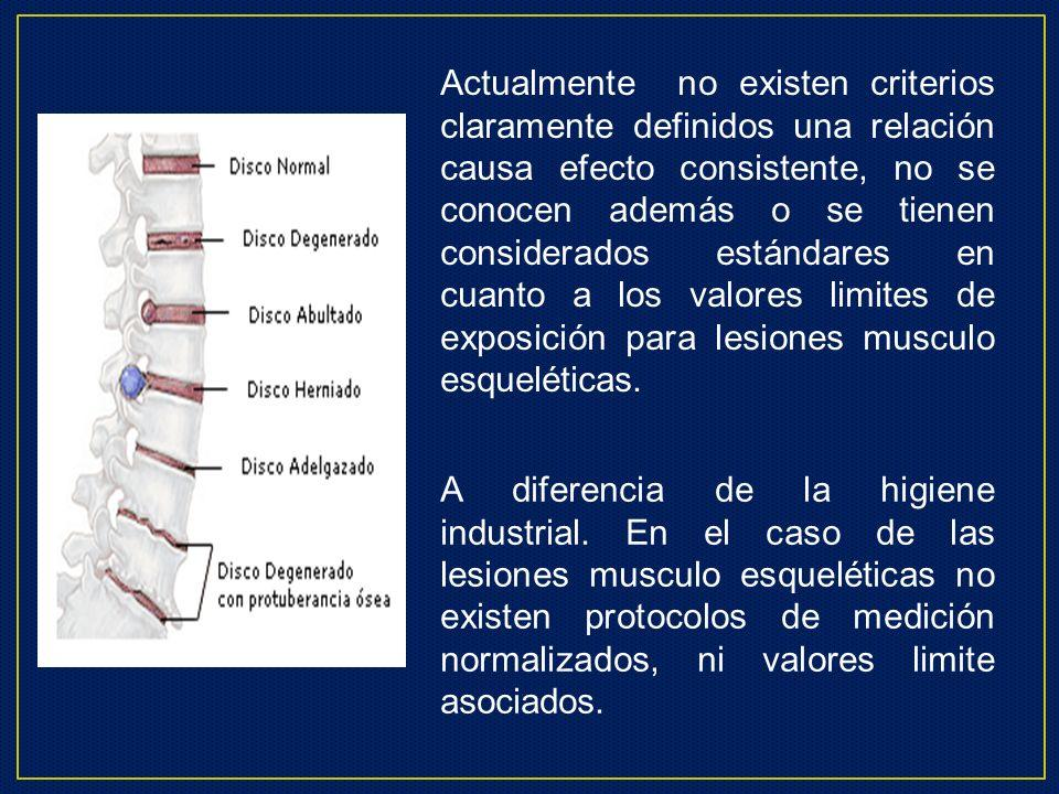 Factores de Riesgo Laborales Carga Física Posturas Inadecuadas Vibración de Cuerpo Completo Movimientos Repetitivos de Flexo-extensión.