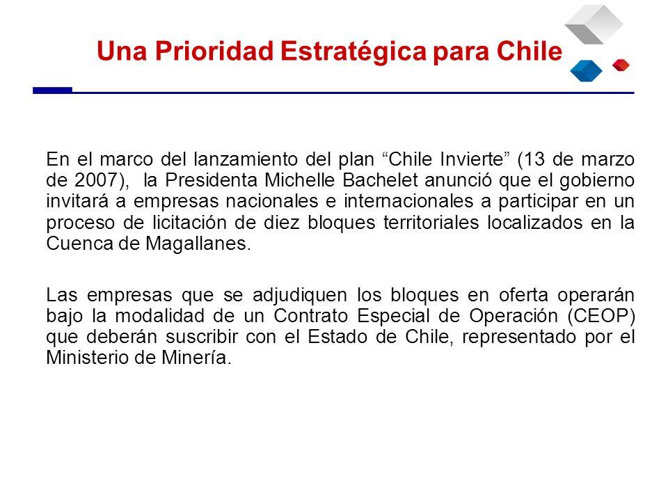 En el marco del lanzamiento del plan Chile Invierte (13 de marzo de 2007), la Presidenta Michelle Bachelet anunció que el gobierno invitará a empresas