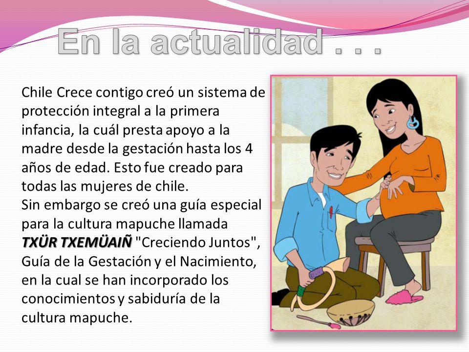 Chile Crece contigo creó un sistema de protección integral a la primera infancia, la cuál presta apoyo a la madre desde la gestación hasta los 4 años