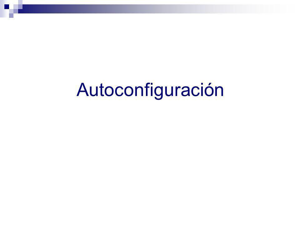Autoconfiguración