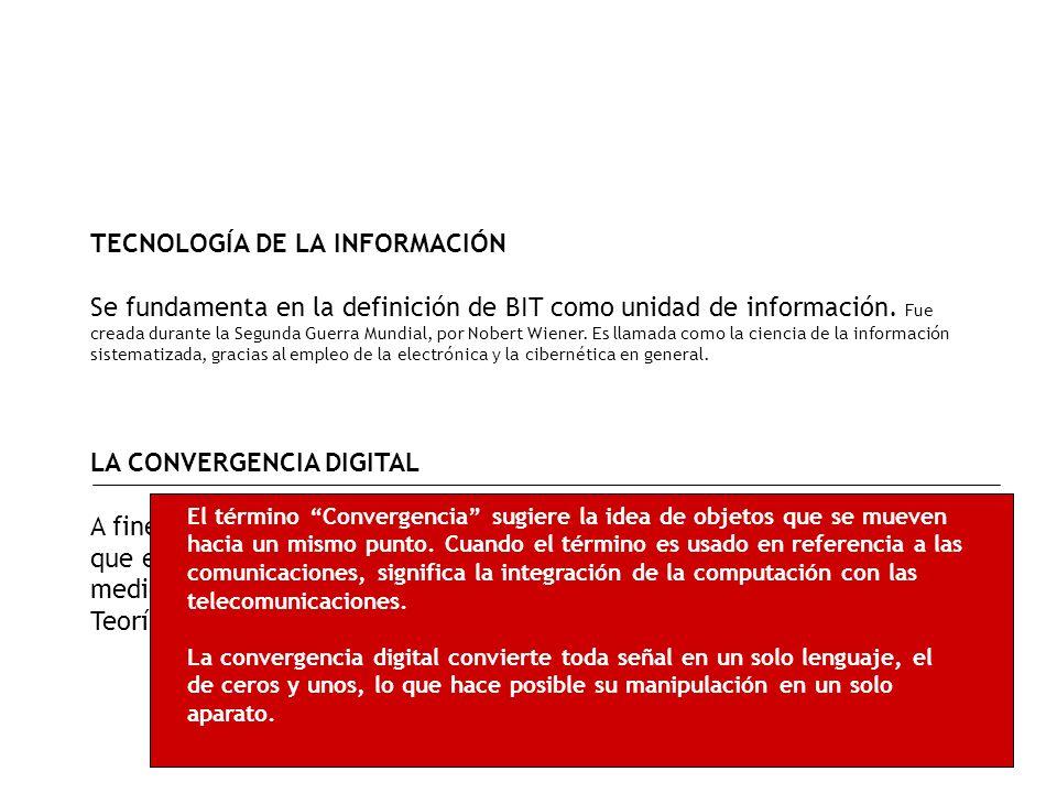 La Información - Explosión de la Información (1992) - Se dan cambios fundamentales en la forma de acceder, obtener, administrar y diseminar la informa