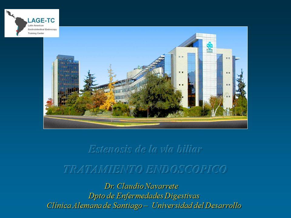 Dr. Claudio Navarrete Dpto de Enfermedades Digestivas Clínica Alemana de Santiago – Universidad del Desarrollo