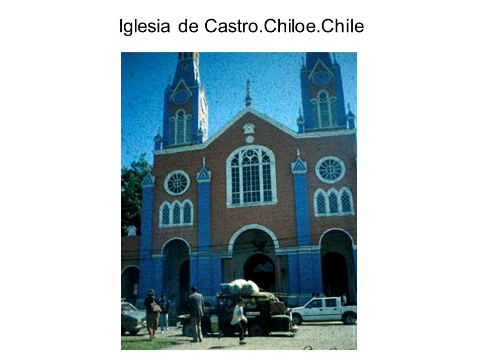 Iglesia de Castro.Chiloe.Chile