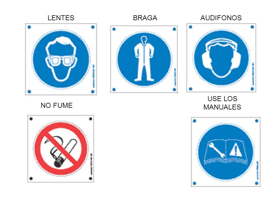 USE LOS MANUALES BRAGAAUDIFONOS NO FUME LENTES