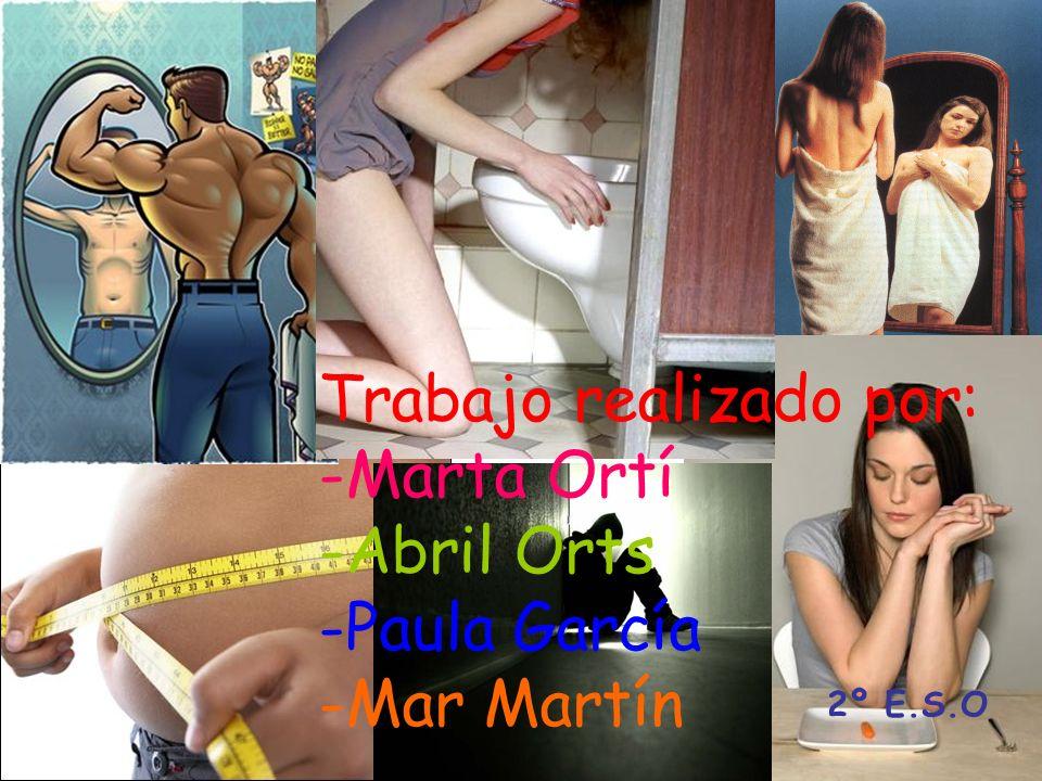 Trabajo realizado por: -Marta Ortí -Abril Orts -Paula García -Mar Martín 2º E.S.O