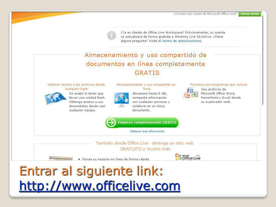 Microsoft Office Live Workspace