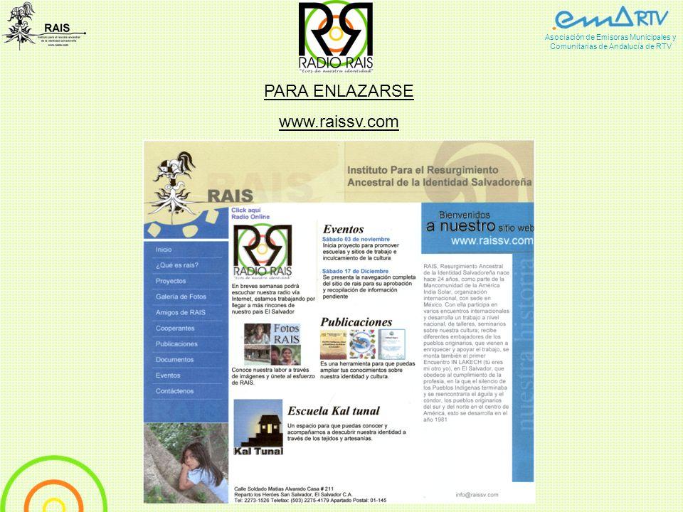RAIS, Rescate Ancestral Indigena Salvadoreño nace hace 24 años, como parte de la Mancomunidad de la América India Solar, organización internacional, c